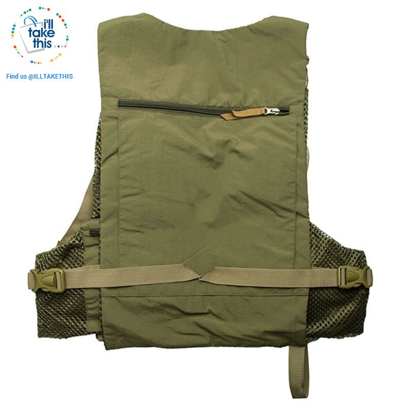 Our MaxCatch Flyfishing vest with BONUS Double hook Fly fishing lures - I'LL TAKE THIS