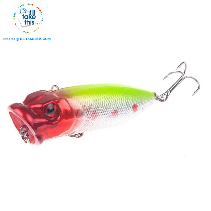 JerkBaitPro™ SURFACE Popper Fishing Lures - 5 colors, 70mm, 10g Pencil popper Floating topwater fishing lures - I'LL TAKE THIS