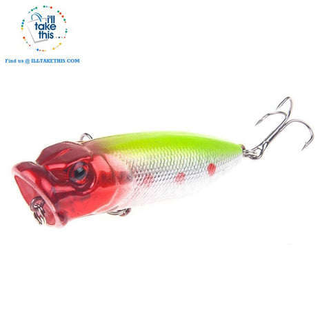 Image of JerkBaitPro™ SURFACE Popper Fishing Lures - 5 colors, 70mm, 10g Pencil popper Floating topwater fishing lures - I'LL TAKE THIS
