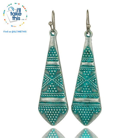 Image of LOOK your best with our Handmade Bohemian earrings - I'LL TAKE THIS