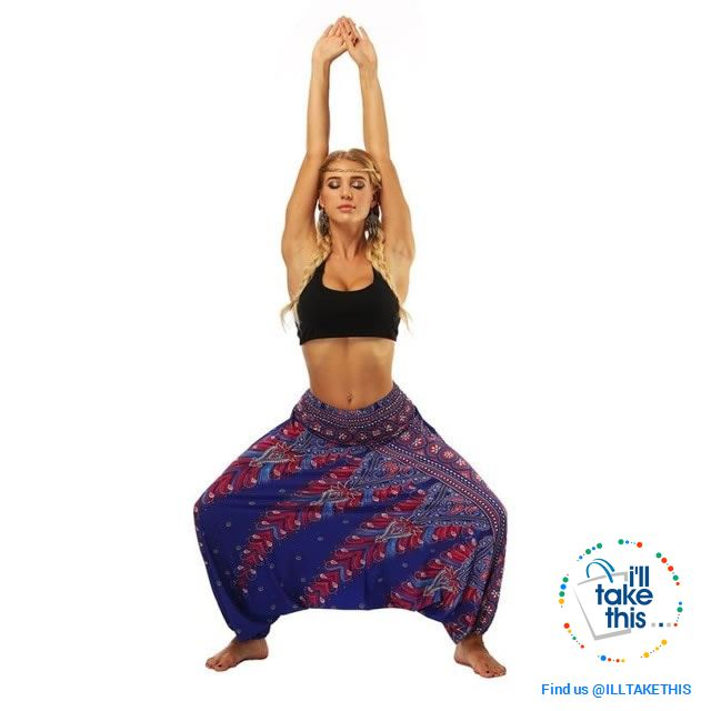 Harem Pants, 25 Unique Bohemian/Hippy Styles with Wide Legs to suit your Yoga, Pilates or Mediation - I'LL TAKE THIS