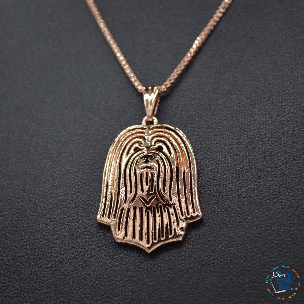 Havanese Dog Lovers' a unique designed Pendant in Silver, Gold or Rose Gold plating + BONUS Necklace - I'LL TAKE THIS