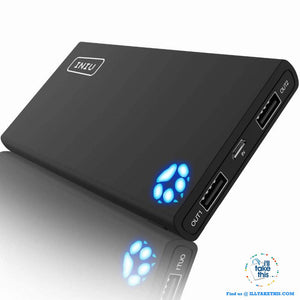 iPhone Ultra High capacity Dual USB 10000mAh Power Bank Portable Charger suits iPhone X, Xs or R - I'LL TAKE THIS