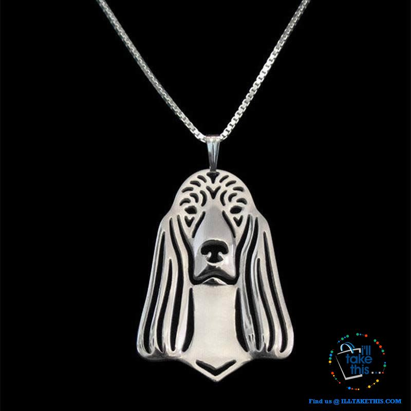 Irish Setter Lovers' a unique designed Pendant in Gold, Silver or Rose Gold Plating + BONUS Necklace - I'LL TAKE THIS
