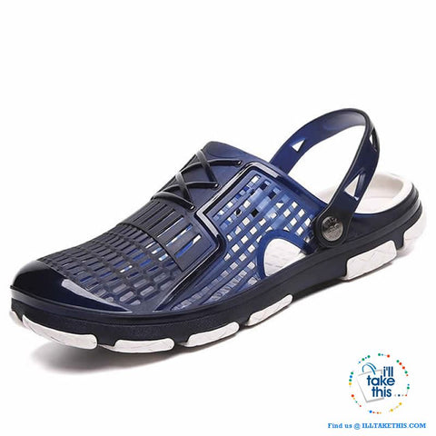 Image of 👨 Men's Slip-on Sandals, Flip Flops, Outdoor Beach and Water sports casual shoes - I'LL TAKE THIS