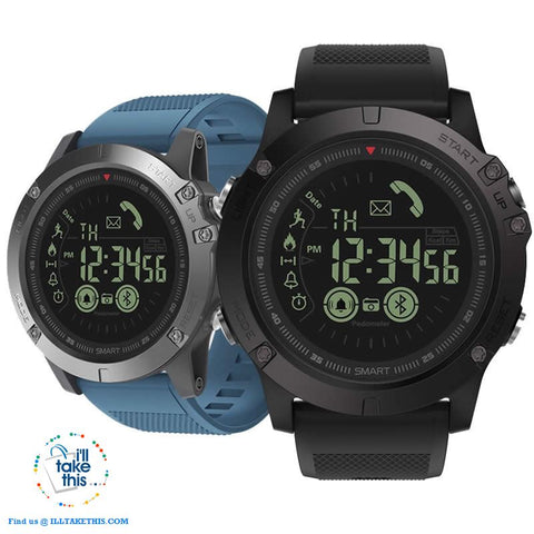 Image of Men's Rugged Smartwatch All-Terrain Sports Watch for IOS and Android - I'LL TAKE THIS