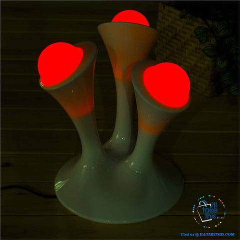 Image of Mini Pod Nightlight Glowing Balls LED Lamps ideal Kid bedroom Lights - I'LL TAKE THIS