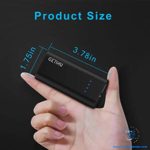 Mini Power Bank 2.4A USB Portable Charger Powerbank For iPhone XS X Android Phones