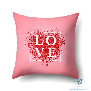 Sweet Romantic Cushions say it with Love this Valentine's Day