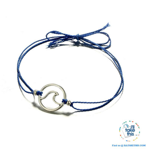 Image of Shabby Chic Wave Bracelet/Anklets for Women Girl - 4 Color Rope options - I'LL TAKE THIS