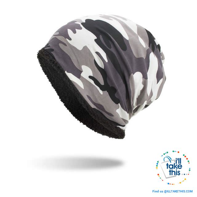Ladies and Gents Cool Camouflage themed Beanie, great look 4 colors options ideal his and hers pair - I'LL TAKE THIS