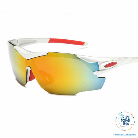 Image of Sports UV400 protective Sunglasses for Bicycle, Skiing, Jogging, Fishing or just as driving glasses - I'LL TAKE THIS