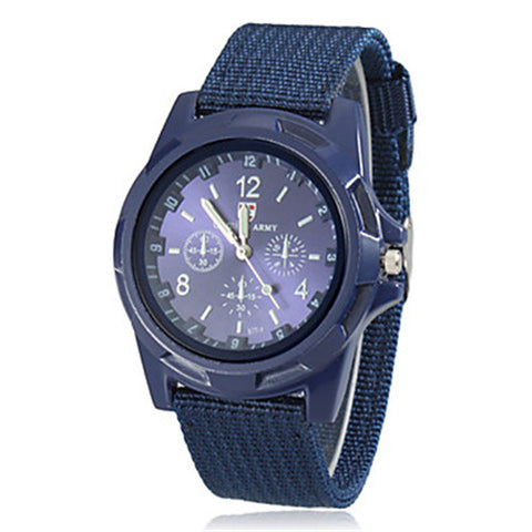 Men's Military Style Watches - Three Color Choices - I'LL TAKE THIS