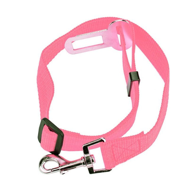 Adjustable Pet Seat Belt/Safety Leads Vehicle Seat-belt Harness in 12 colors for the ultimate look - I'LL TAKE THIS