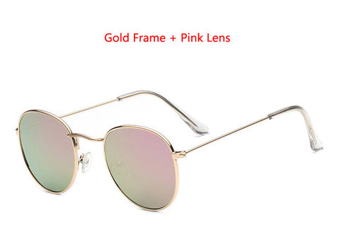 Designer Round Sunglasses Women or Mens Vintage Retro Mirror Glasses - Lots of colors to choose from - I'LL TAKE THIS