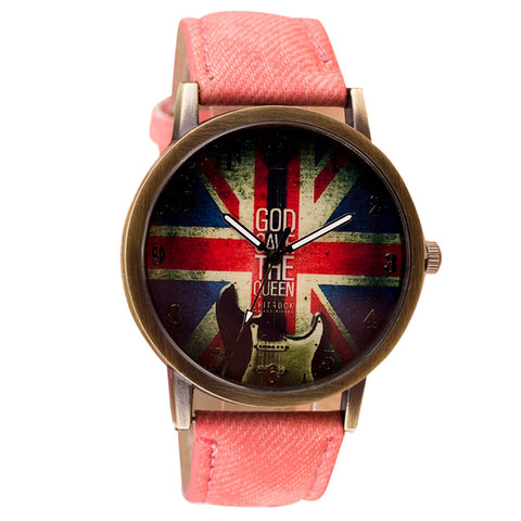 British Fashion Colored Watch, Unisex Pattern Analog Quartz Vogue Watches - I'LL TAKE THIS
