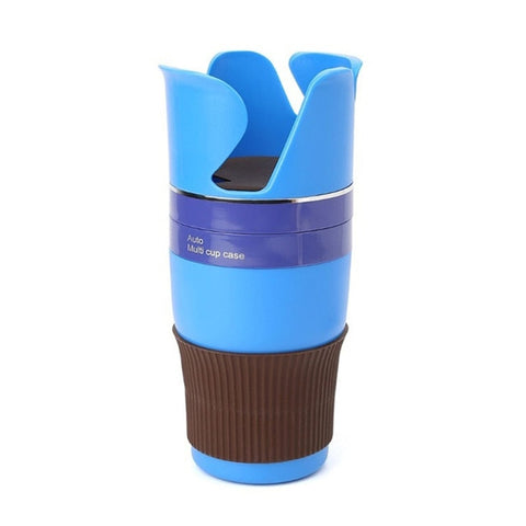 Automotive Multi Cups Organizer Phone Holder Car Drink Bottle Gadget Storage - I'LL TAKE THIS