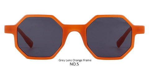 Image of Octagon Vintage Women Sunglasses Designer Skinny Frame Sun Glasses, 7 Color Options - I'LL TAKE THIS