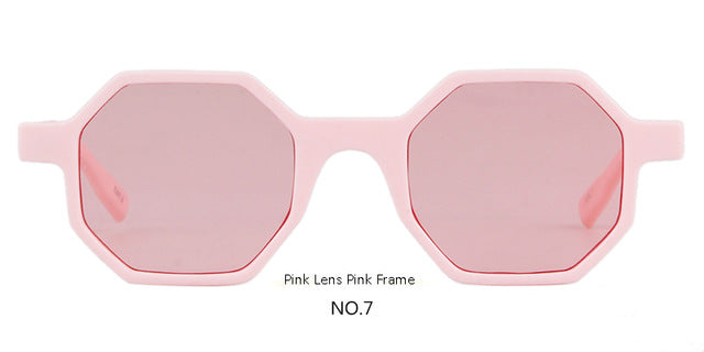 Octagon Vintage Women Sunglasses Designer Skinny Frame Sun Glasses, 7 Color Options - I'LL TAKE THIS