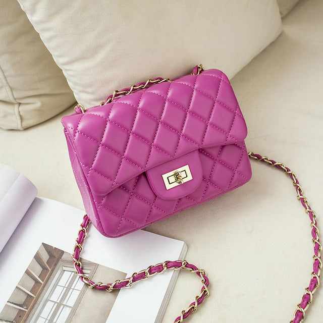 Quilted Design Luxury Small size Shoulder Handbags, 9 Colors in a Vintage Crossbody Bag - I'LL TAKE THIS