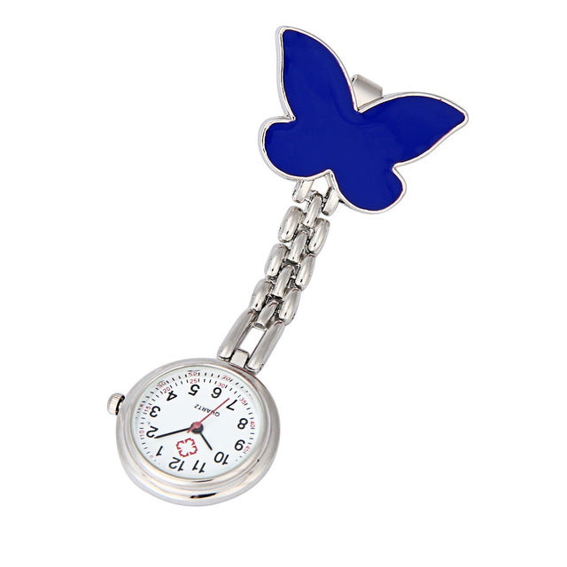 Nurse Clip-on Fob Brooch Pendant Hanging Butterfly Watches Pocket Watch - I'LL TAKE THIS