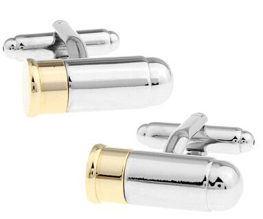 Image of Men Cufflinks Army Series, in Gold & Silver Plating GREAT Gifts for men - I'LL TAKE THIS