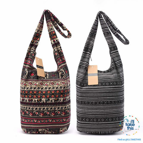 Image of 100% Designer Ladies cotton shoulder bag, show your individuality with these unique designs - I'LL TAKE THIS