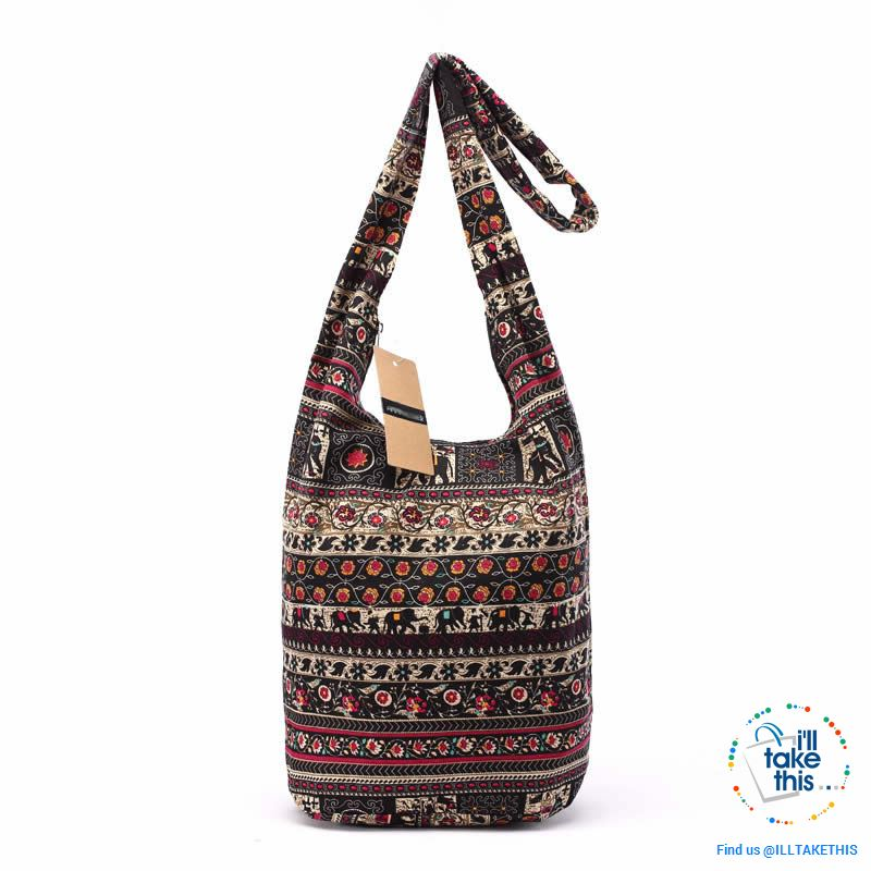 100% Designer Ladies cotton shoulder bag, show your individuality with these unique designs - I'LL TAKE THIS