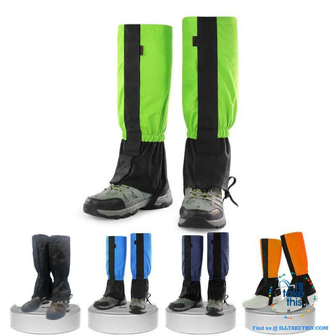 Image of Water resistance leg protectors for your next Outdoor venture, suits Show, Camping and Hiking or next Fishing trip - I'LL TAKE THIS