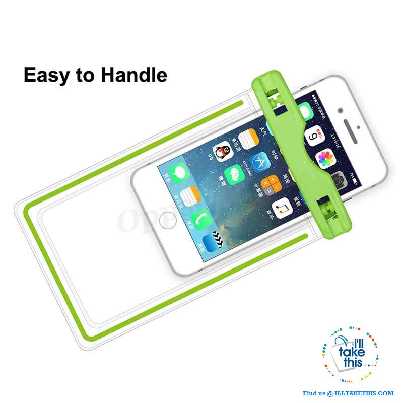 Waterproof Mobile Phone Case For Smartphones, Clear PVC Sealed Underwater Cell Smart Phone protector - I'LL TAKE THIS