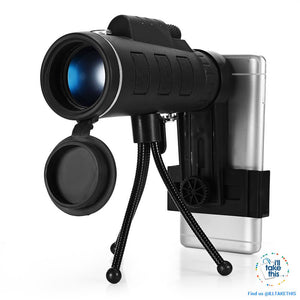 Serious iZOOM40x™ Lens for your Smartphone 40X Zoom Telescope IDEAL for any Budding Photographer - I'LL TAKE THIS