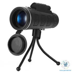 Serious iZOOM40x™ Lens for your Smartphone 40X Zoom Telescope IDEAL for any Budding Photographer