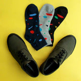 Casual Canvas Shoes (Olive) & Pack of 3 Socks for Men