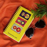Classic Aeronaut Sunglasses & Retro Wire Bound Notepad