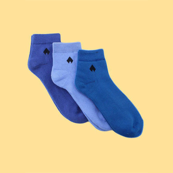 Pack of 3 Socks (Unisex): Classic Coloured Collection I