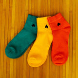 Pack of 3 Socks (Unisex): Classic Colored Collection II
