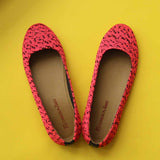 Knitted Ballerinas