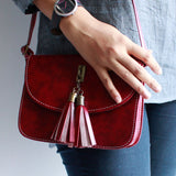 Stylish Chic Leather Sling Bag