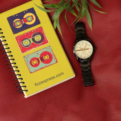 Businesswear Watch, Retro Wire Bound Notepad