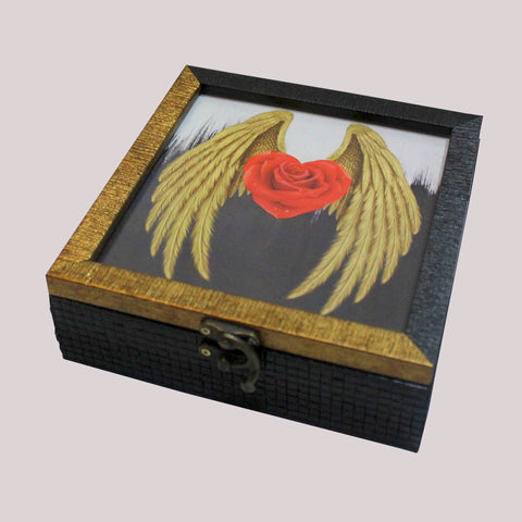 Handpainted Black Beauty Wooden Box