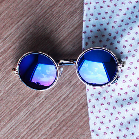 Splentia Round Sunglasses