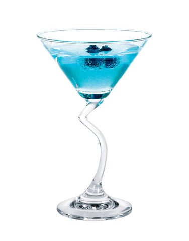 Ocean Salsa Cocktail Glass