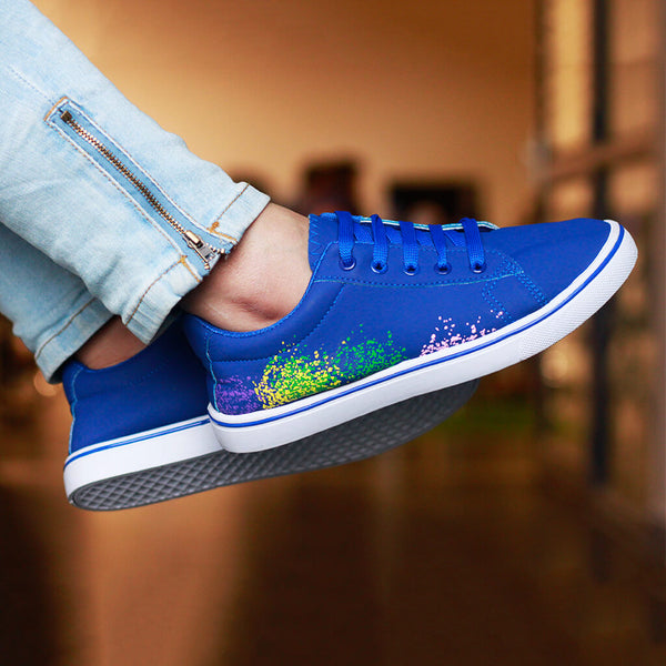 Splatter Print Women's Sneakers