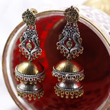 Traditional Two Tone Earrings