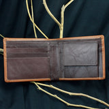 Men's Two Fold Tan Wallet