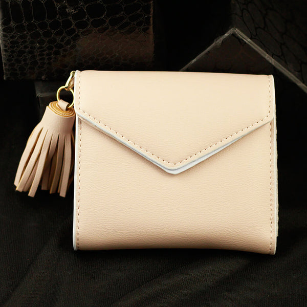 Envelope Wallet With Tassel