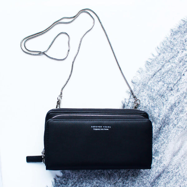Classico Leather Clutch