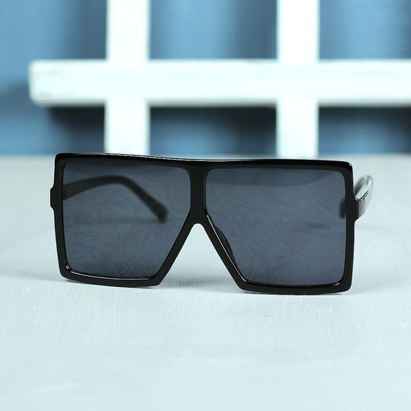 Oversized Retro Square Sunglasses