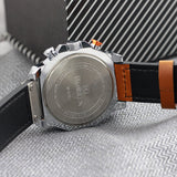Curren Leather Strap Men's Chronograph Watch