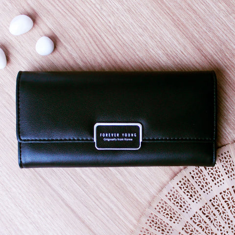 Summer Bliss Leather Clutch
